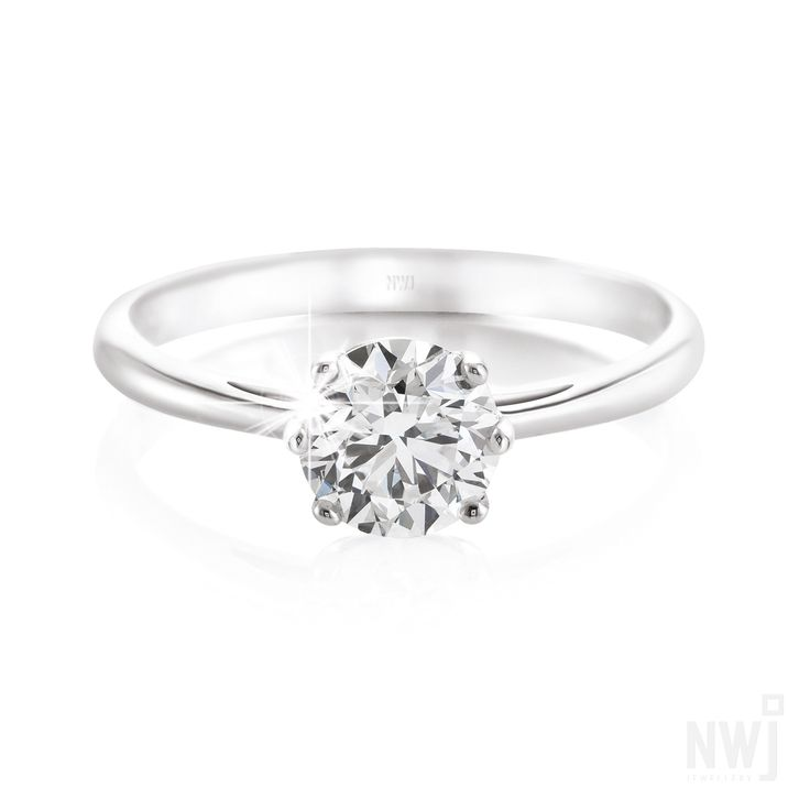 Diamond Catalogue: Gorgeous 18ct White Gold Ring With Diamond By NWJ *Valid for 2013