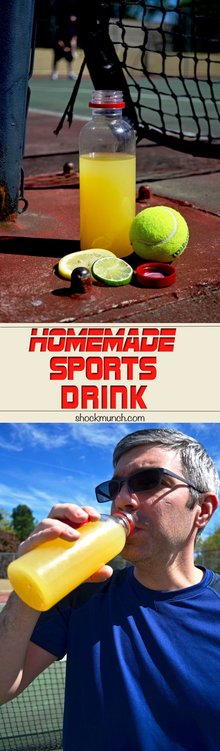 This week I want share my Homemade Sports Drink recipe with you! If you love Gatorade but it's sugar content makes you nervous, whip up a batch of this healthier, all natural, Homemade Sports Drink instead! I love having a bottle of my Homemade Sports Drink handy after a rigorous workout. Our apartment complex has [...]