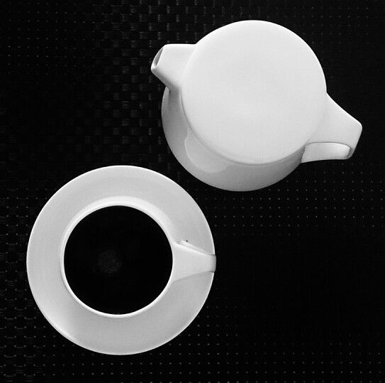 Marc Newson by Noritake cup and saucer set and teapot
