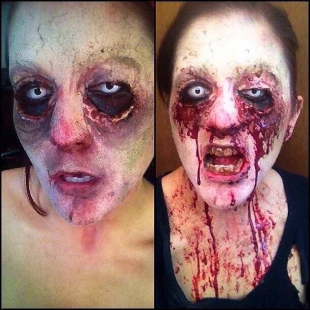 halloween zombie special effects makeup sfx
