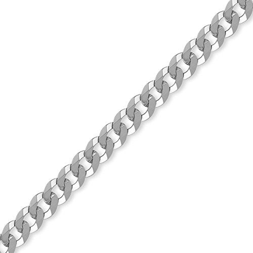 Jewelco London Panzerkette Silber 7mm Dicke - http://schmuckhaus.online/jewelco-london/jewelco-london-panzerkette-silber-7mm-dicke-2