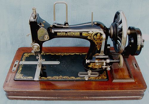Frister and Rossman Model D Serial No. 149109. The date 27th Okt 1937 is stamped on the bottom edge of the case and we believe this would have been the date of manufacture.