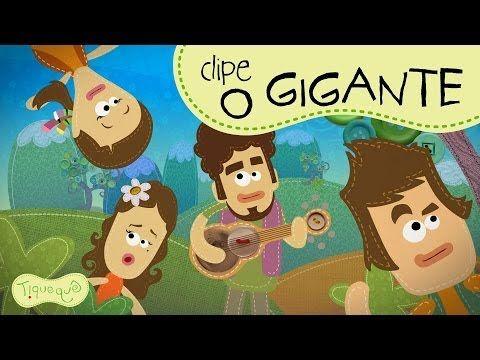 """Video Musical """"O Gigante"""" clipe animado do Tiquequê - YouTube"""