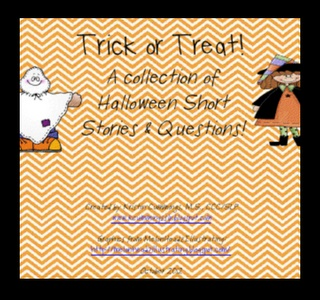 Halloween Comprehension Freebie!-a collection of Halloween short stories and questions from Simply Speech. Pinned by SOS Inc. Resources @sostherapy.