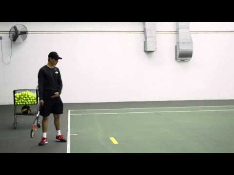 Tennis Technique: Weight Transfer in the Serve