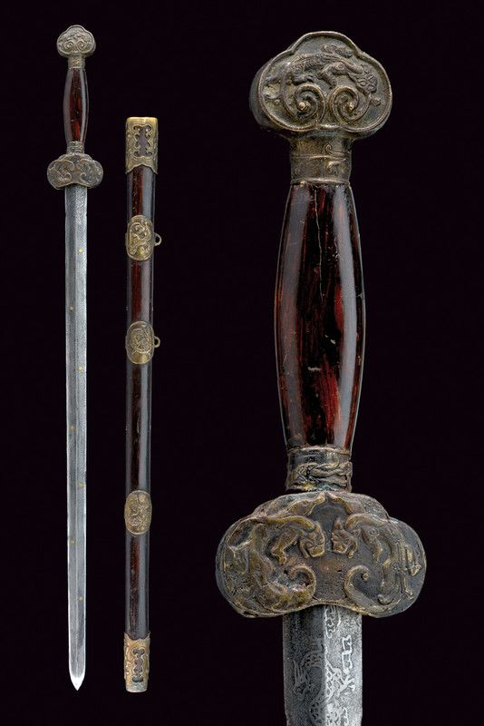 A jian (sword)    provenance: China dating: first quarter of the 20th Century.
