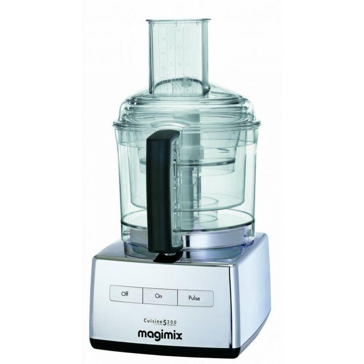 ... Food Processers › Magimix › Magimix 5200 Chrome food processor