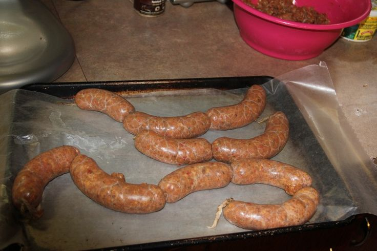 Homemade Chicken Sausage ~ Ingredients: 5lbs of chicken with the fat ...