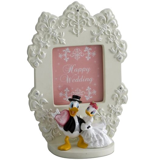 [Disney Mickey & Friends] Wedding picture photo frame - Donald Duck & Daisy Duck