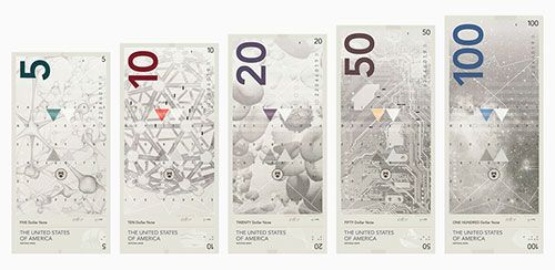 The USD concept by Travis Purrington - banknote design