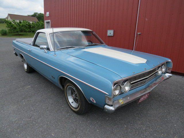 1968 Ford Ranchero Fairlane 500 Xl Virtual Car Show