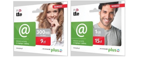 Plus rozwija swoją ofertę mobilnego internetu. Tym razem ucieszą się wszyscy zainteresowani internetem na kartę.  http://www.spidersweb.pl/2013/03/internet-plus-lte-na-karte.html