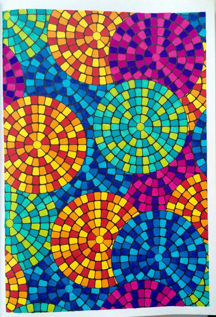 100 nouveaux coloriages anti stress art th rapie hachette art therapy pinterest anti - Coloriage art therapie ...
