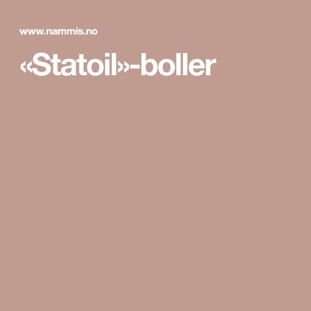 «Statoil»-boller