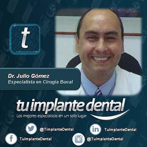 """El Dr. Julio Gómez es uno de nuestros Especialistas en Cirugía #Bucal ubicado en Caracas que podrá ayudarte con la Extracción de tus #Cordales o colocación de #ImplantesDentales... Quieres conocer más de él? Con consultorio en #Chacao puedes hacer tu cita ingresando en www.tuimplantedental.com seleccionando la Categoría """"Cirugía bucal""""  """"Caracas"""" en el Buscador. #OralSurgery #DentalSurgery #Sonrisa #TratamientoDental #SaludDental #SaludBucal #SaludOral #Salud #Dientes #Tooht #Teeth…"""
