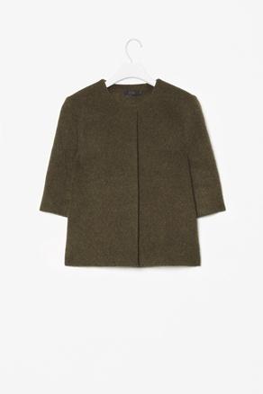 COS Melange wool jacket