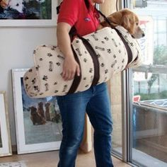 FREE SHIPPING Aging Dog Carrier Large Dog Carrier Recovering Dog Carrier Old Dog Stretcher Dog Lift Harness 500PCS ONE LOT