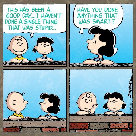charlie brown. good day.