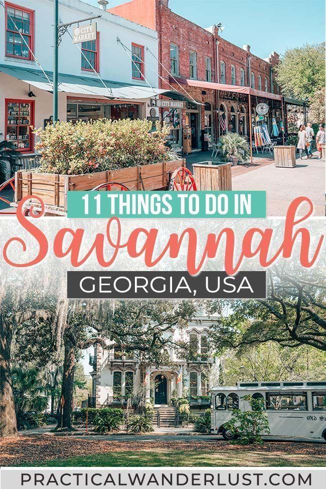 10 Enchanting Things To Do In Savannah Georgia On The Perfect Weekend Trip Savannah Chat Travel Savannah Georgia Travel