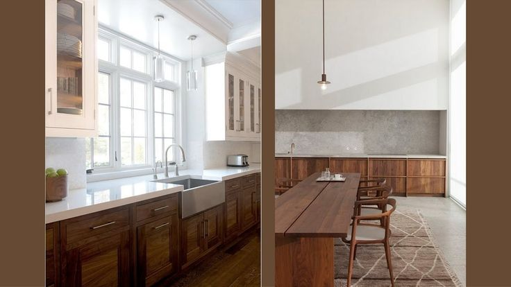 Ideas para las cocinas de madera