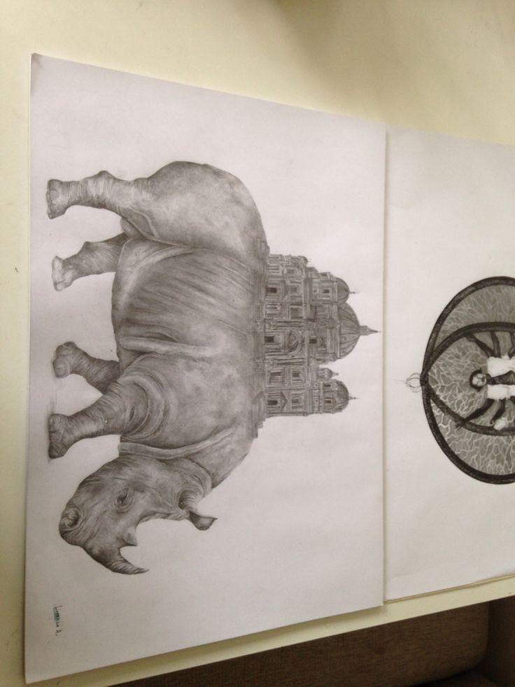 Rinoceronte terminado