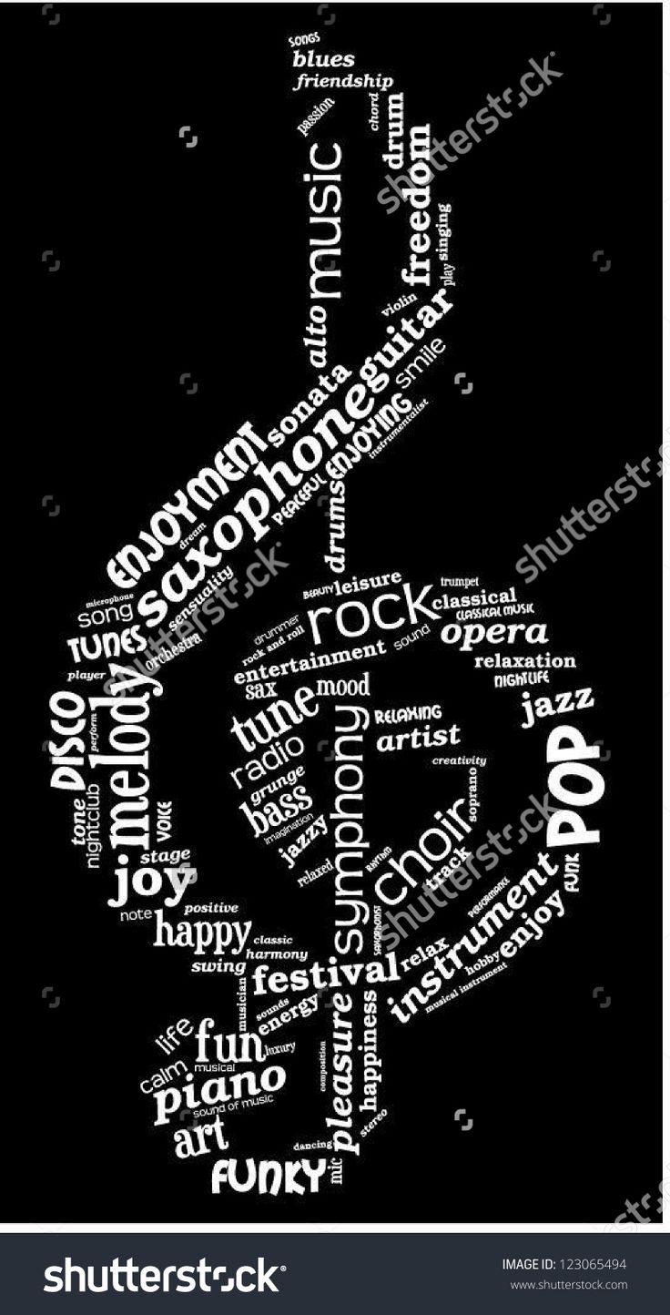 music word cloud - Google Search