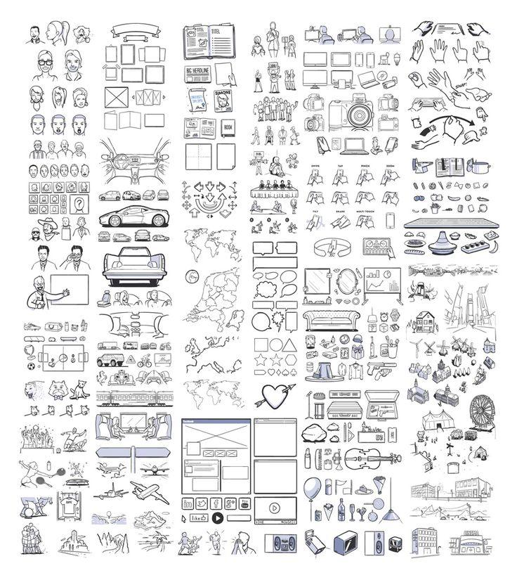 실력있는 기획자에게 필요한 무료 스토리 보드 아이콘 430+ - 소셜미디어(Social Media) 기반 온라인 마케팅 블로그