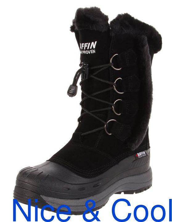 Baffin Chloe Women's Insulated Winter Boots - Black