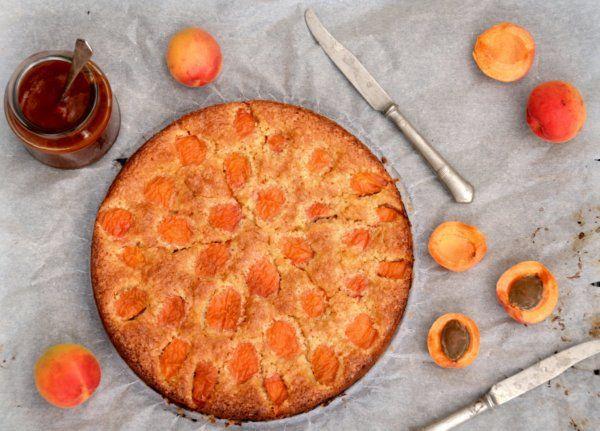 Sárgabarackos frangipán - sült mandulakrémes pite  Apricot frangipane