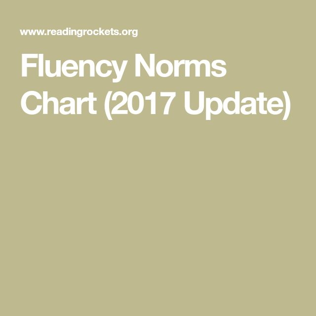 This resource is focused on oral fluency. The website provides a description of oral fluency and an Oral Fluency Norms document, which shows the mean oral reading fluency of students in grades 1 through 6. This resource thoroughly breaks down in technical terms what oral fluency is how to break down a student's fluency.