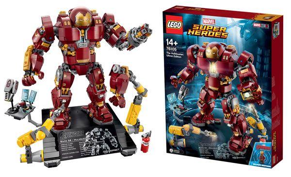 Bientôt disponible : 76105 LEGO Marvel The Hulkbuster : Ultron Edition: Nouvelle annonce de la part de LEGO avec la présentation… #LEGO