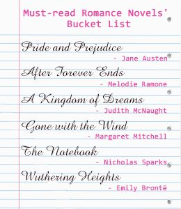 Best selling romance novels