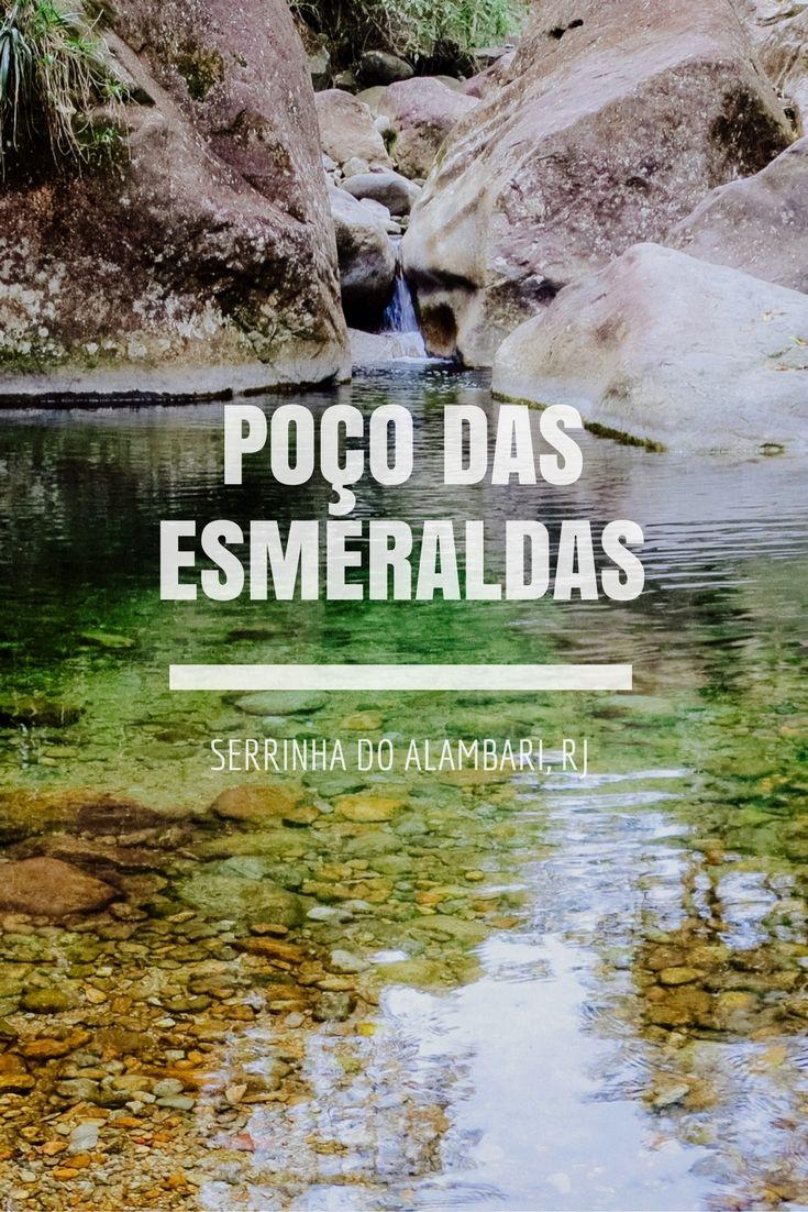 Poço das Esmeraldas: como chegar pela trilha do Camping Clube do Brasil. Penedo e Serrinha do Alambari - Rio de Janeiro.