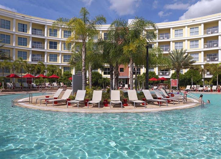 20 Best Hotels Near Disney World At Every Price Point Purewow Disney Domestic Hotel Travel Mone Hotels Near Disney World Hotels Near Disney Orlando Hotel