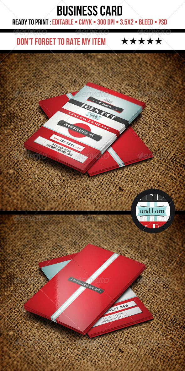 retro graphic designer business card - Graphic Design Business Ideas