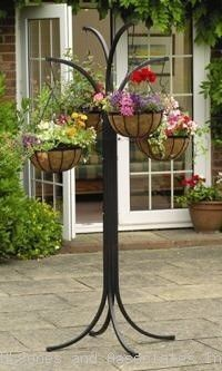 Outdoor Hanging Plant Stand For The Home Pinterest