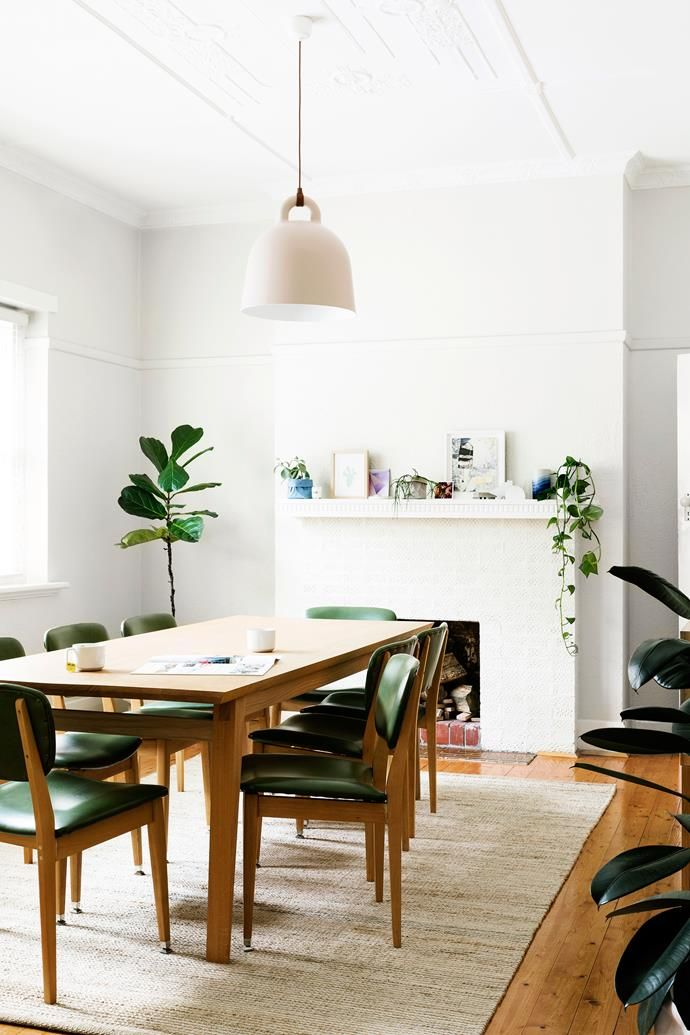Hunting For George Owner S Modern Retro Melbourne Home Dining Roomsdining