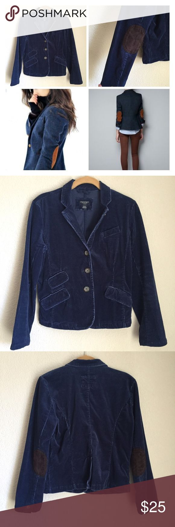 American eagle outfitters stretch corduroy blazer American eagle outfitters stretch corduroy blazer jacket cotton spandex with multi pockets! Adorable American Eagle Outfitters Jackets & Coats Blazers