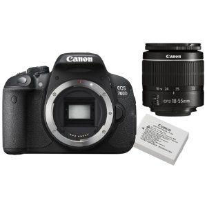 Canon EOS 700D spejlreflekskamera + objektiv