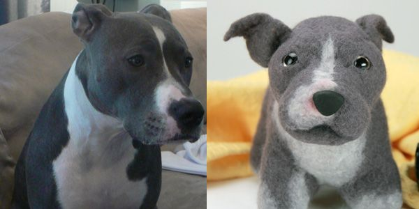 Must do... Send a picture of your dog and they'll make you a stuffed one. And the money goes to help shelter animals. This is awesome!