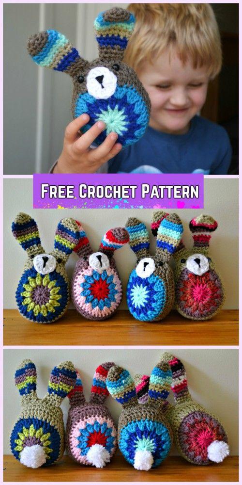 Easy Crochet Bunny Amigurumi Free Pattern
