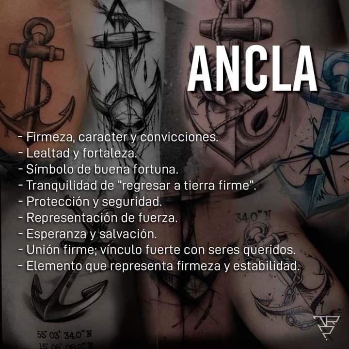 Ancla significado tatuaje | Tatuajes de anclas, Tatuajes de anclas  significado, Anclas