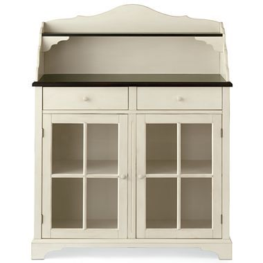 Hoosier cabinet jcpenney kitchen foyer ideas for Bathroom cabinets jcpenney