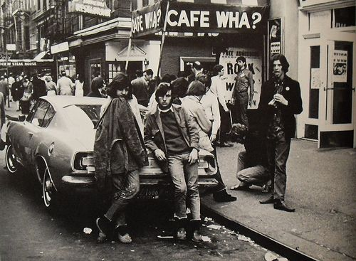 Cafe Wha? in the Village, NYC