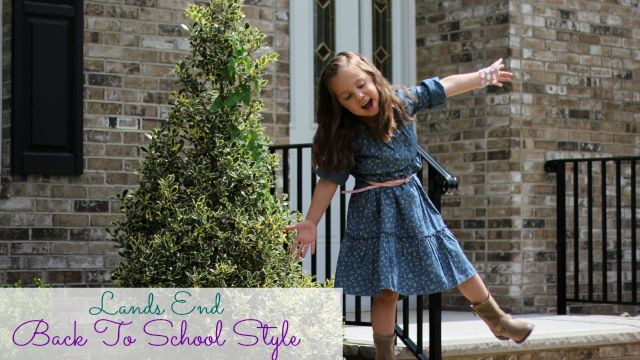 Back To School Kids Style With Lands End - Complicated Mama