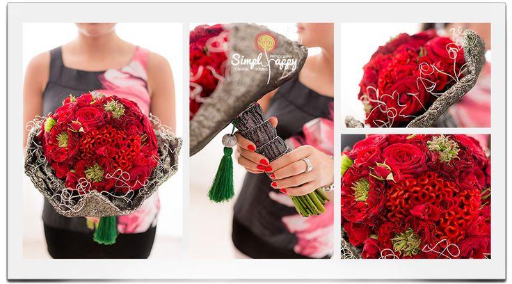 Oriental Bridal Bouquet