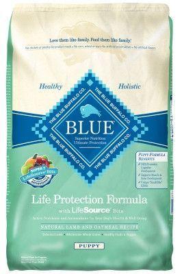 Blue Buffalo Lamb & Oatmeal Puppy Dry Food 30 lbs
