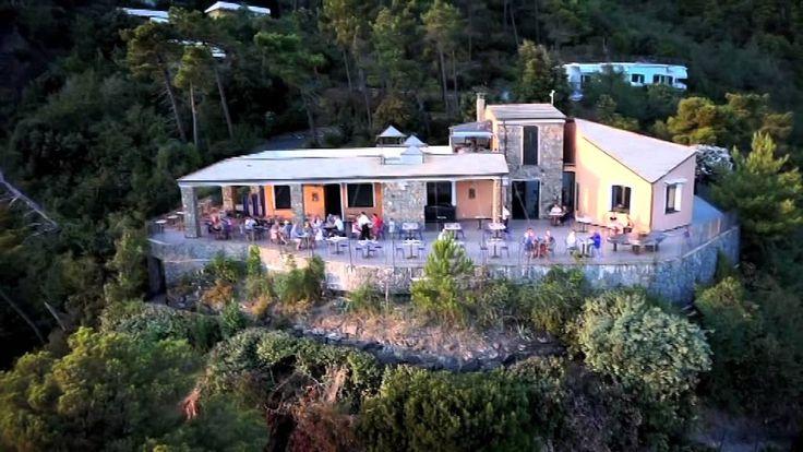Il Resort La Francesca visto dal cielo: il Ristorante Rosadimare
