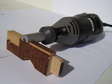 Planer Guide Dremel Cutter Carbide tools Chamfer Deburr Hobby Models Woodworking