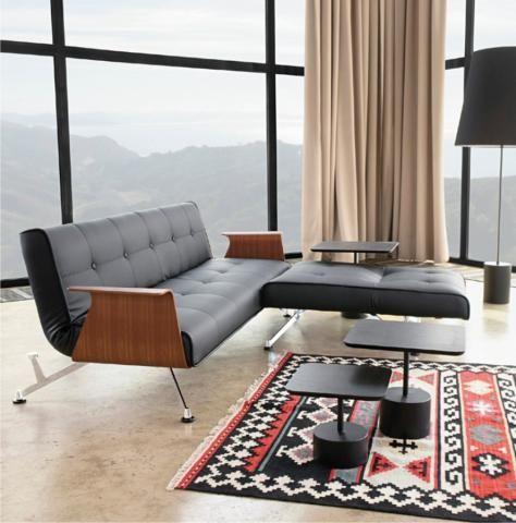 sofa Clubber Innovation - ładna i praktyczna